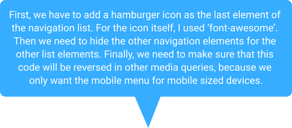 Speech bubble for adding the icon
